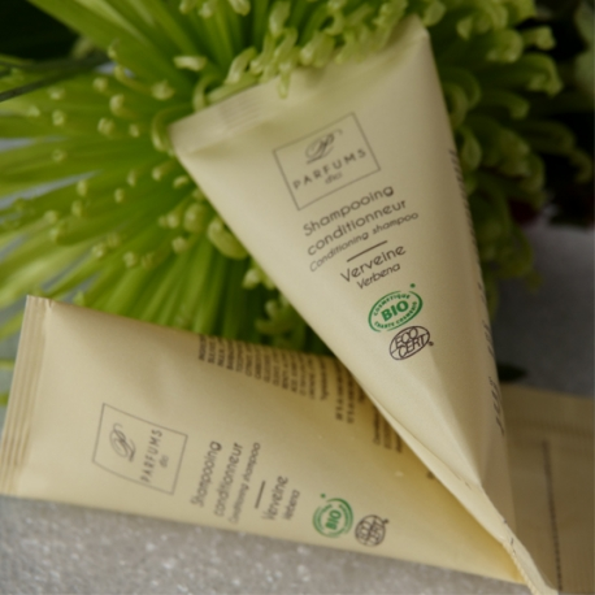 Shampooing Conditionneur Verveine BIO, berlingot 23 ml (100 Pcs)