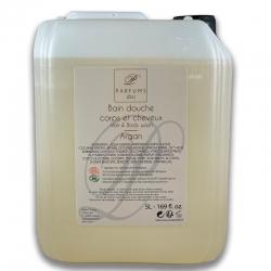 Shampooing-douche Argan Bio en bidon de 5 litres